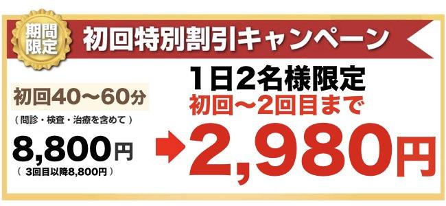 初回特別キャンペーン価格